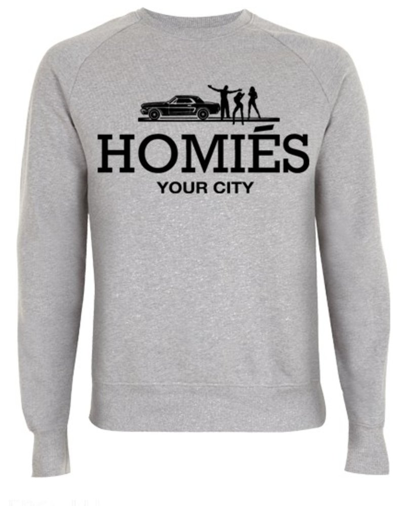 DOPE ON COTTON CUSTOM HOMIES YOUR CITY SWEATER