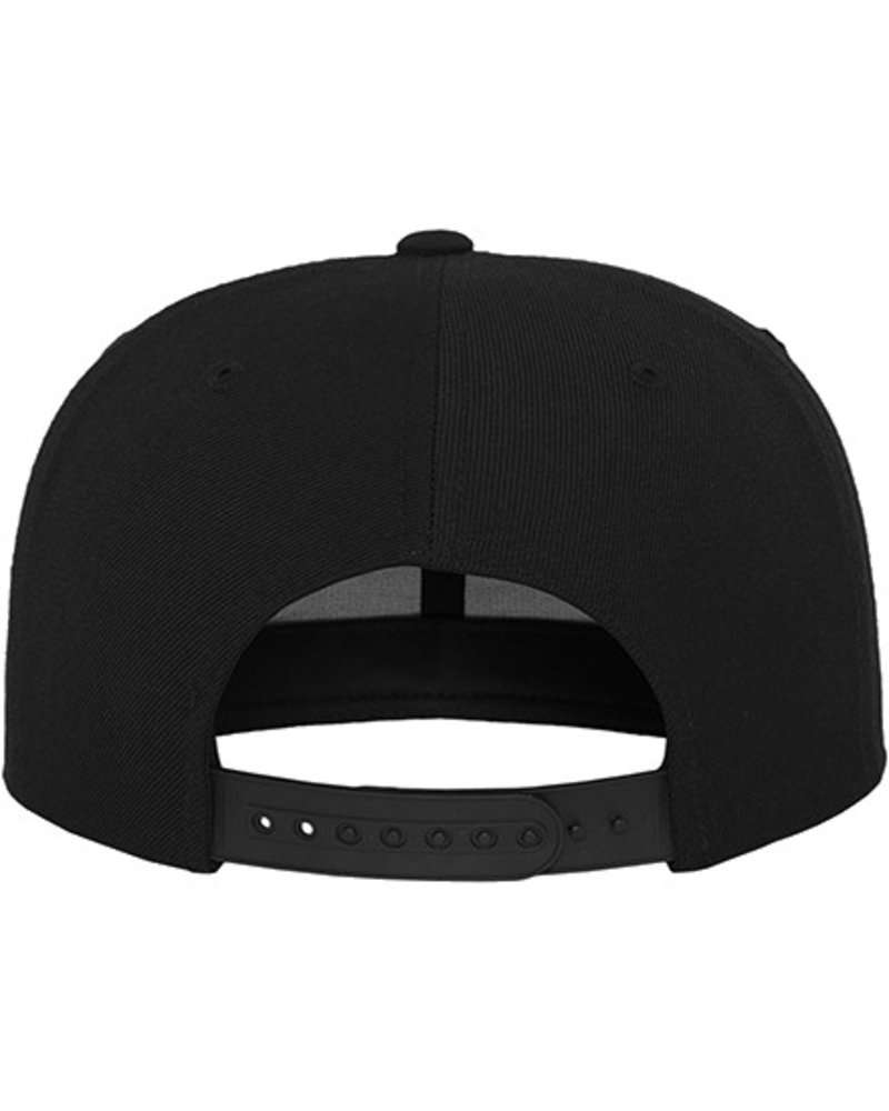 FLEXFIT by YUPOONG Classic Snapback by Yupoong black black