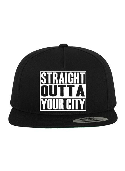 DOPE ON COTTON CUSTOM STRAIGHT OUTTA YOUR CITY CAP