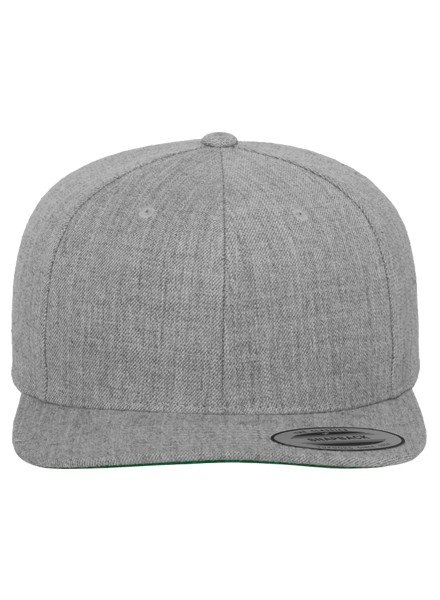 FLEXFIT by YUPOONG Classic Snapback Heather Grey