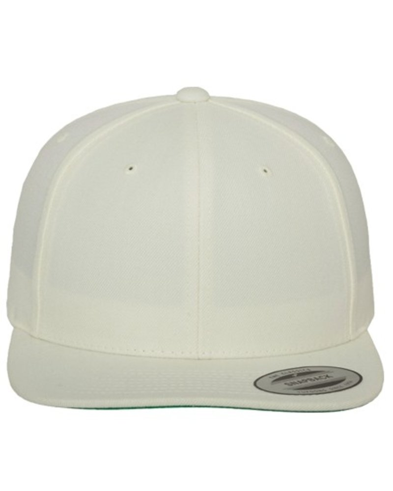 FLEXFIT by YUPOONG Classic Snapback Natural/White