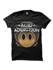 DOPE ON COTTON Skank N Bass Merchandise T-shirt - Acid Addiction