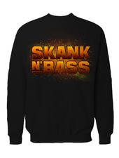 DOPE ON COTTON Skank N Bass Merchandise Crewneck - SNB Space Logo