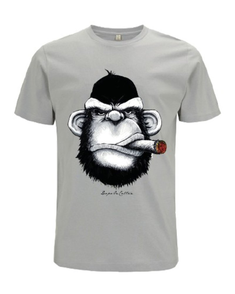 DOPE ON COTTON DOC Monkey Cigar Organic T-shirt