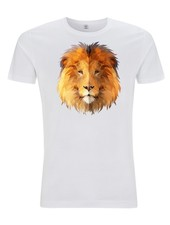 DOPE ON COTTON DOC Polygon Lion Organic T-shirt