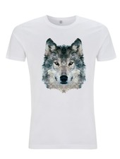 DOPE ON COTTON DOC Polygon Wolf Organic T-shirt