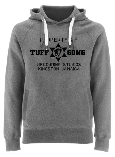 EARTH POSITIVE by Continental Clothing Hooded sweater - Tuff Gong by DOC