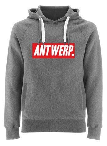 EARTH POSITIVE by Continental Clothing Hooded sweater - ANTWERP red box by DOC