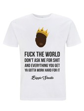 DOPE ON COTTON DOC Flat design Biggie Smalls T-shirt