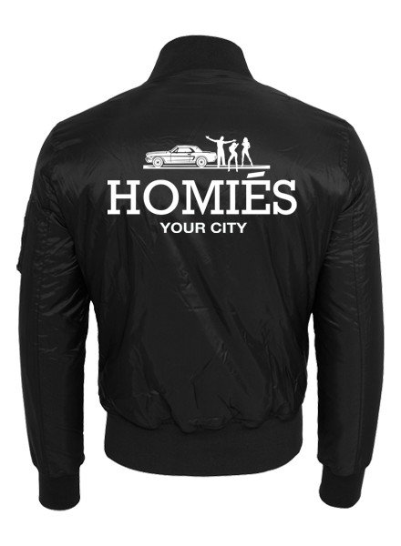 DOPE ON COTTON CUSTOM HOMIES BOMBER MEN