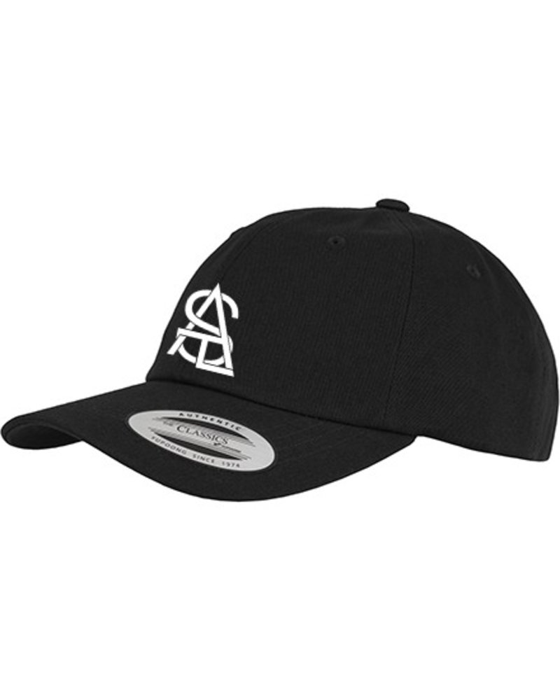SATL (Sky Ain't The Limit) SATL DAD CAP LOW PROFILE LETTER LOGO WHITE