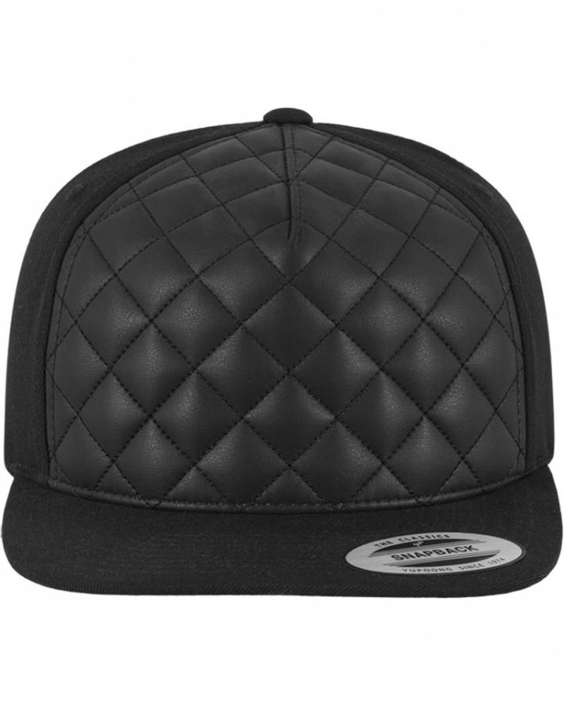 DOPE ON COTTON Diamond Quilted Snapback Customize