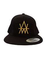 ANTWERP Premium Snapback AW BlackonBlack Gold edition