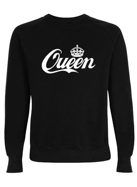 DOPE ON COTTON QUEEN sweater black