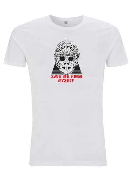DOPE ON COTTON T-shirt SMFM white mask triangle