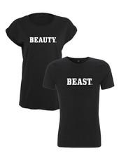 DOPE ON COTTON Beauty&Beast T-shirt