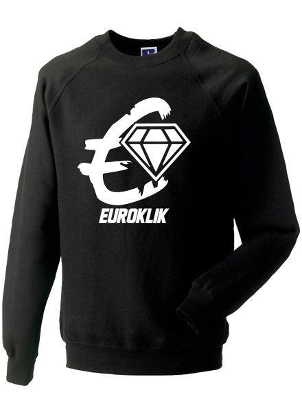 EUROKLIK Crewneck sweater Euroklik logo