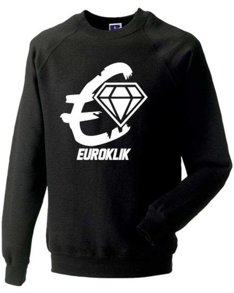 EUROKLIK Crewneck sweater Euroklik logo - Copy