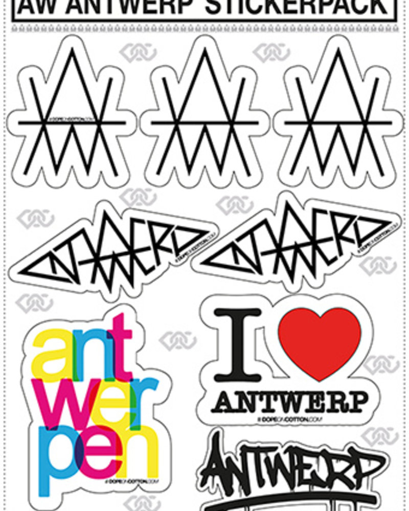 AW ANTWERP STICKERPACK