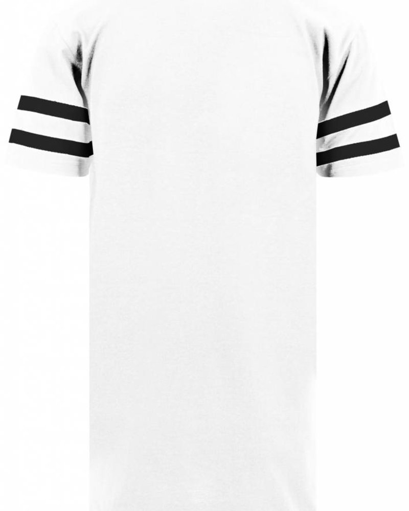 DOPE ON COTTON Custom Stripe Tee name - number