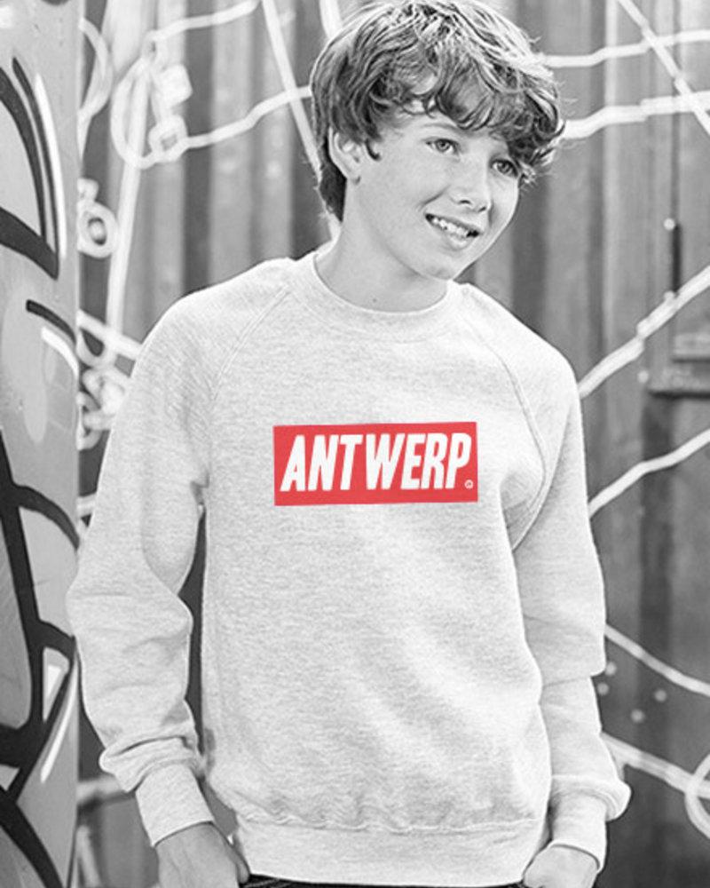 AW ANTWERP Kids sweater AW red box