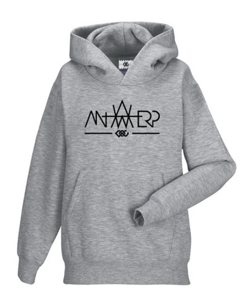 AW ANTWERP Kids Hooded sweater - AW baseline