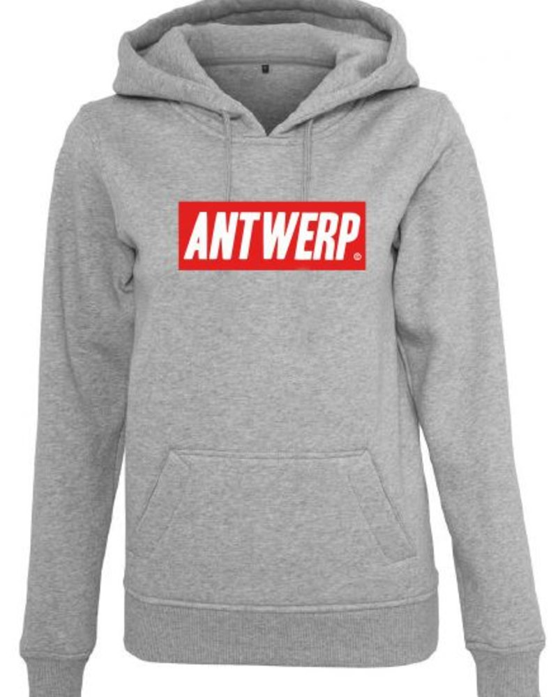 AW ANTWERP Hoodie Ladies AW RED BOX