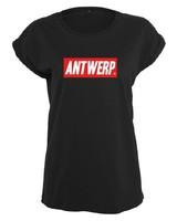 AW ANTWERP T-shirt ladies AW REDBOX