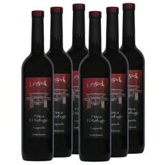 Finca El Refugio - D.O. La Mancha y Vinos de la Tierra de Castilla Voordeeldoos - Hoog gewaardeerd