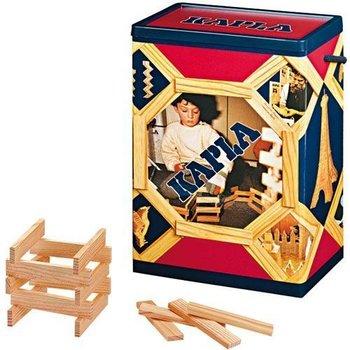 Kapla Kapla ton met 200 houten plankjes