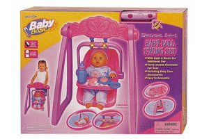 Winner Toys 2 in 1 schommelstoel