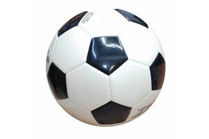 voetbal N° 5 wit-zwart