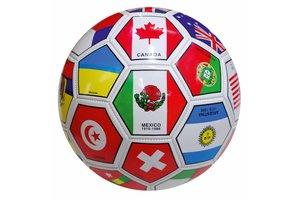 voetbal N° 5 vlaggen