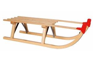 Slede hout - houten slee - 90 cm