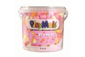 Playmais Playmais Emmer 5L met 500 stuks Pink