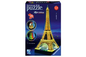 Ravensburger 3D puzzel Eifeltoren Night edition