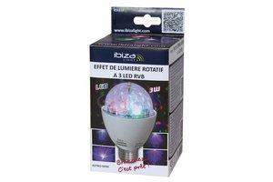 Ibiza Roterend licht effect mini astro