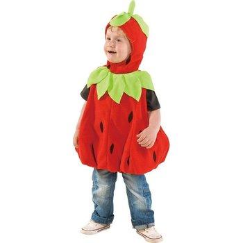 Baby en aardbeien
