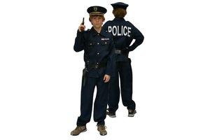 Kostuum Politie met pet