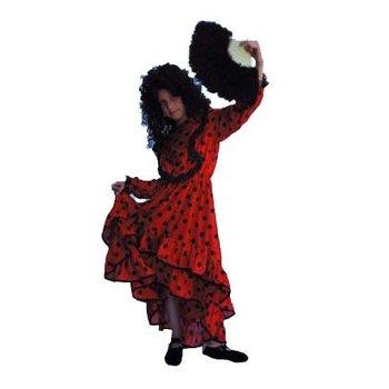 Kostuum Spaans meisje