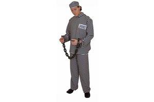 Kostuum Gevangene met pet