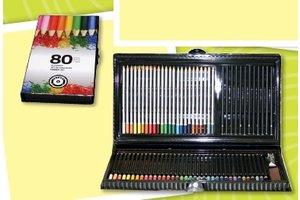 Art kleurbox 80-delig