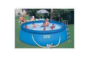 Intex Easy Pool 457 x 122 cm met Chloorgenerator