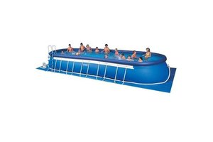 Intex Oval Frame Pool 975x366x122cm