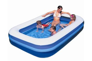 Bestway Familiebad splash & play 262x175