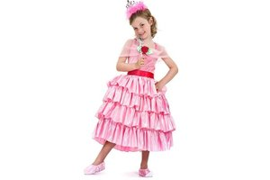 Kostuum Strokenprinses Rosa