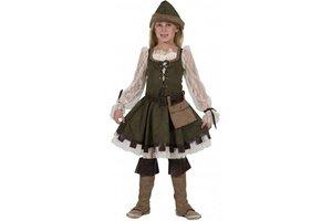Kostuum Robin Hood meisje
