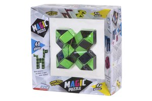 Clown Games Magic Puzzle 3D 48-delig groen
