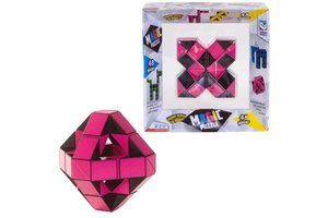 Clown Games Magic Puzzle 3D 48-delig roze