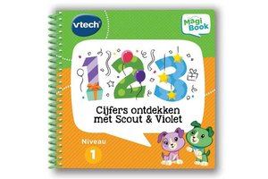 VTech Magibook - Cijfers ontdekken met Scout en Violet